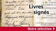 Livres sign�s