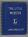The Little Webster Liliput Dictionary