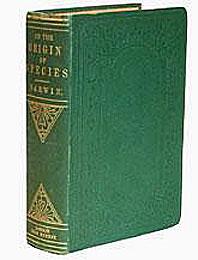 1859, édition originale de l'Origine des espèces