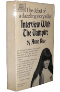 Interview with the vampire, le premier livre dédicassé par Anne Rice