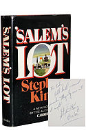 Salem's lot dédicassé par Stephen King
