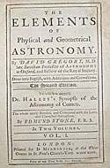 The Elements of Physical and Geometrical Astronomy