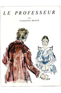 Charlotte Brontë, Le professeur