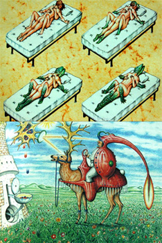 Couvertures du Codex Seraphinianus