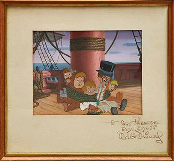 Celluloid de Peter Pan de Walt Disney